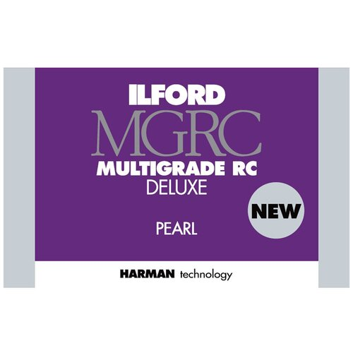 Фото - Фотобумага Ilford Multigrade RC Deluxe, 24 x 30.5 см, перламутровая, 10 л фотобумага ilford multigrade rc deluxe 24 x 30 5 см перламутровая 10 л