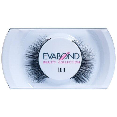 Купить EVABOND Накладные ресницы L011 черный