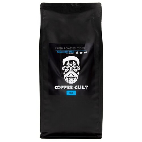 coffee 1889 premium blend 1 kg Кофе в зернах Coffee Cult Blend Classic Crema, 1 кг