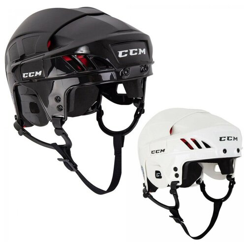 Шлем хоккейный ССМ Fitlite 50 SR взрослый(S / черный/S)