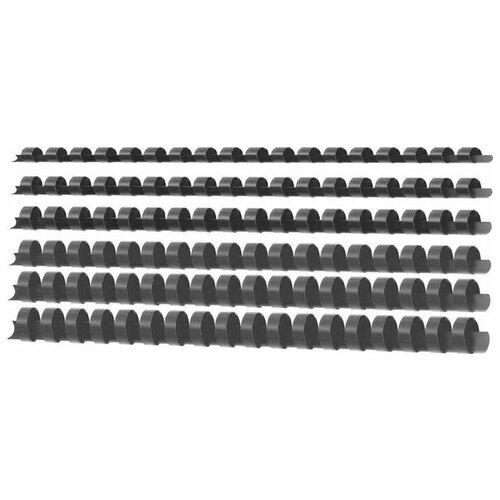 Фото - Пружины для переплета пластиковые Deli A4 ассорти, диаметр 12 мм deli e7817 белый