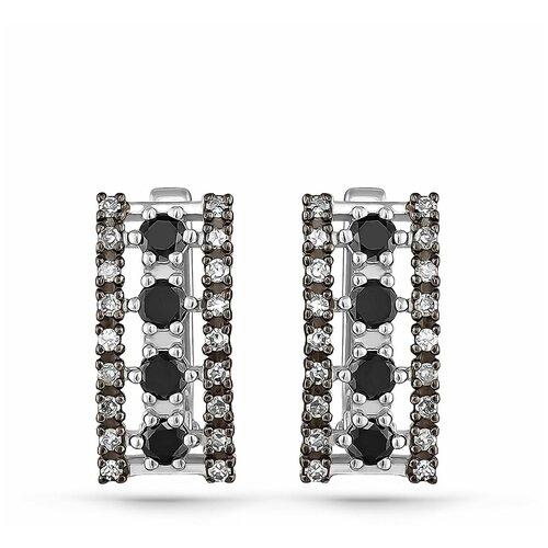 KABAROVSKY Серьги с 44 бриллиантами из белого золота 12-11026-2000