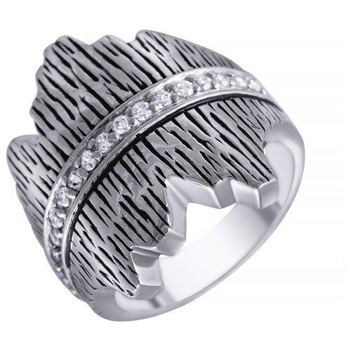 Фото - ELEMENT47 Широкое ювелирное кольцо из серебра 925 пробы с кубическим цирконием 05S2AZR278106CURI_KO_004_WG, размер 18 element47 широкое ювелирное кольцо из серебра 925 пробы с кубическим цирконием 05s2azr104804curi 001 wg размер 18