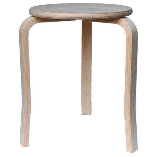 Табурет KETT-UP Eco Style Trio, цвет: натуральный стул kett up picnic eco дерево цвет беленый