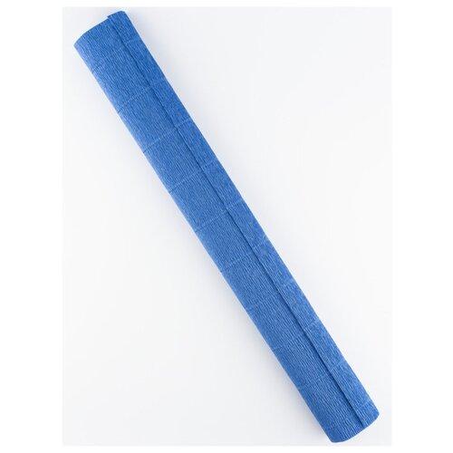 Купить Бумага гофрированная 50см х 2, 5м., 180г/м., Cartotecnica Rossi, 615 дымчато-синий, Цветная бумага и картон