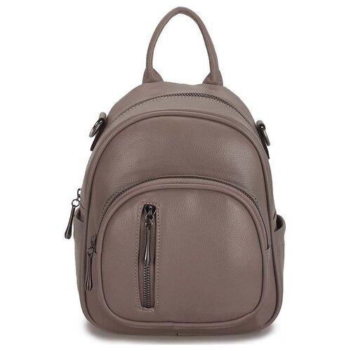 Маленькая женская сумка-рюкзак «Инса» 1255 Grey