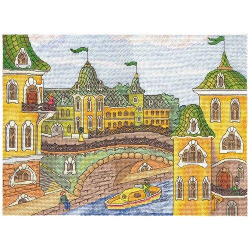 Klart Набор для вышивания 8-119 Городок