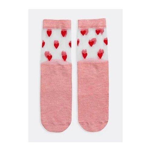 Носки MARK FORMELLE 327K-755, размер 25, розовый меланж