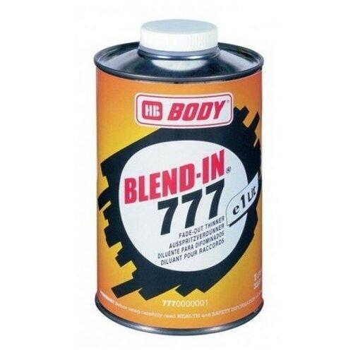 HB BODY разбавитель для автоэмали 777 Blend-In бесцветный 1000 мл