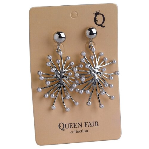 Queen fair Серьги Салюты 4571011