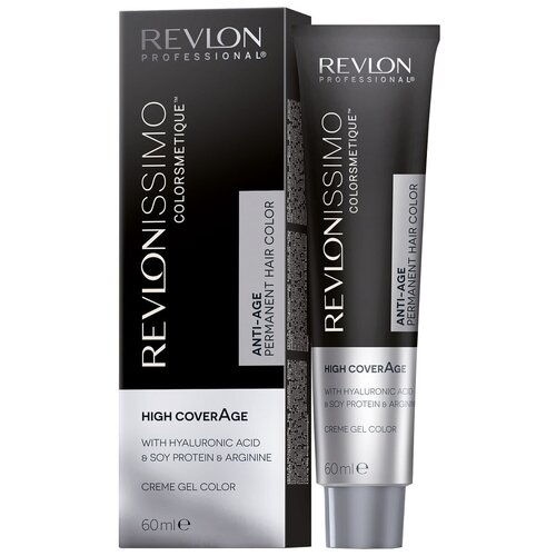 Купить Revlon Professional Revlonissimo Colorsmetique стойкая краска для волос High Coverage, 6-12 снежный темный блондин, 60 мл