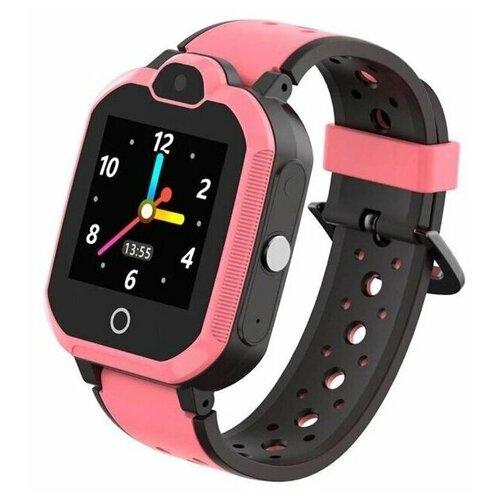 Детские умные часы c GPS Smart Watch Kids LT05 ( 4G ) Pink детские умные часы телефон с gps smart baby watch df25 голубые