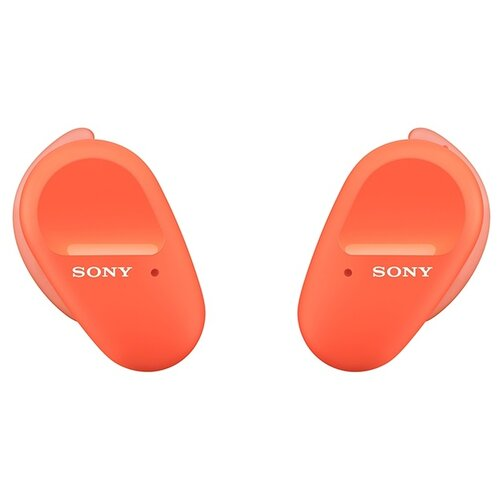 Фото - Беспроводные наушники Sony WF-SP800N, оранжевый беспроводные наушники sony wf 1000xm4 черный