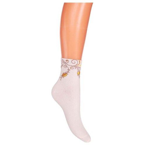 Носки женские Гамма С551, Кремовый, 23-25 (размер обуви 36-40)