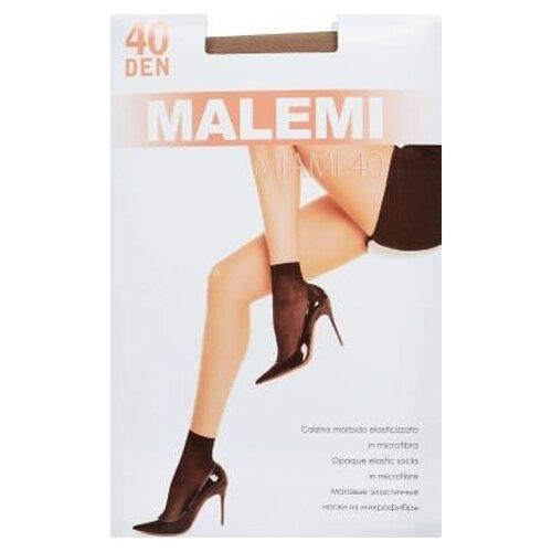Капроновые носки Malemi Miami 40, 2 пары, размер ONE SIZE, melon