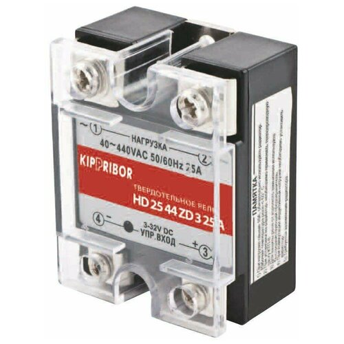 Однофазное твердотельное реле HD-2544.ZD3 [M01] 25А, 3-32V DC