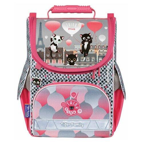Фото - Ранец TIGER FAMILY для начальной школы, Nature Quest, Think Pink in Paris, 35х31х19 см, 270200, 1 шт. think pink