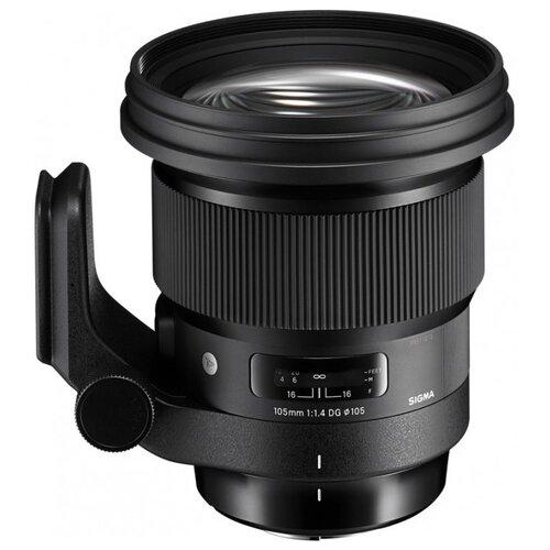 Фото - Объектив Sigma 105mm f/1.4 DG HSM ART L-mount черный объектив sigma 35mm f 1 4 dg dn art l mount черный