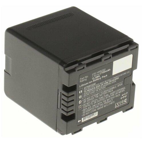 Фото - Аккумулятор iBatt iB-B1-F229 2100mAh для Panasonic VW-VBN130, VW-VBN260, VW-VBN390, VW-VBN130-K, аккумулятор ibatt ib b1 f457 3400mah для panasonic vw vbt190 vw vbt380 vw vby100 vw vbt380e k