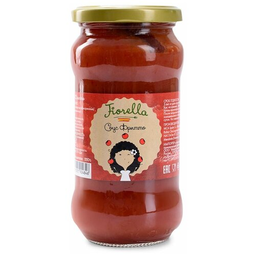 Соус Fiorella Фритто томатный, 350 г, Испания брюки fiorella rubino fiorella rubino fi013ewbeeg7