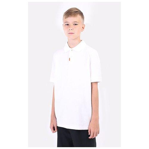 Фото - Поло NIKE Junior Dri-FIT Polo 2.0 размер M(137-147), белый nike толстовка для мальчиков nike sportswear размер 137 147