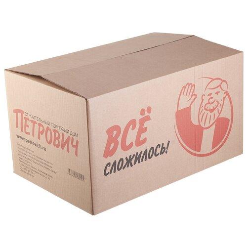 Коробка упаковочная Петрович Все сложилось! 570х380х310 мм с боковыми прорезями