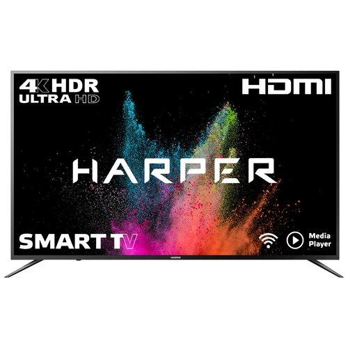 Фото - Телевизор HARPER 55U750TS 54.6 (2018), черный телевизор harper 40 40f660t 40f660t