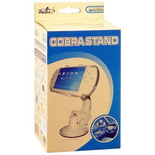 Автомобильное крепление Pega Cobra Stand для PSP Slim/2000 Белый (PSP)