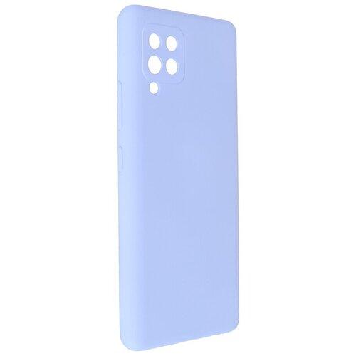Чехол Pero для Samsung Galaxy A42 Liquid Silicone Light Blue PCLS-0045-LB