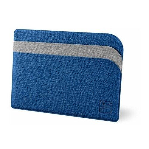 Flexpocket / Защитный футляр для карт / Картхолдер / Кредитница чехол / Держатель для кредитных карт / Визитница сине-серый недорого