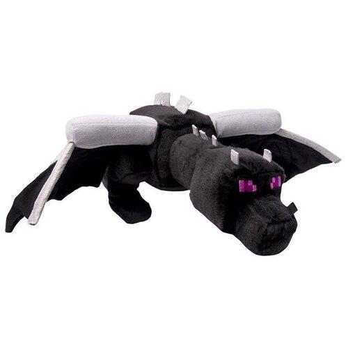 Детская мягкая игрушка ВсеИгрушки / Плюшевый Дракон Края Enderdragon из игры Майнкрафт(Minecraft) для детей, мальчиков и девочек