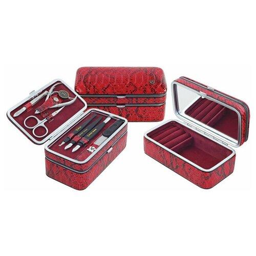 Фото - Маникюрный набор с косметичкой (MS-1206-201S) #104 маникюрный набор с косметичкой zinger ms 1205 804 s 10 предметов