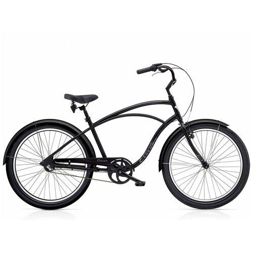 Велосипед городской Electra Cruiser Lux 1 Black(В собранном виде)