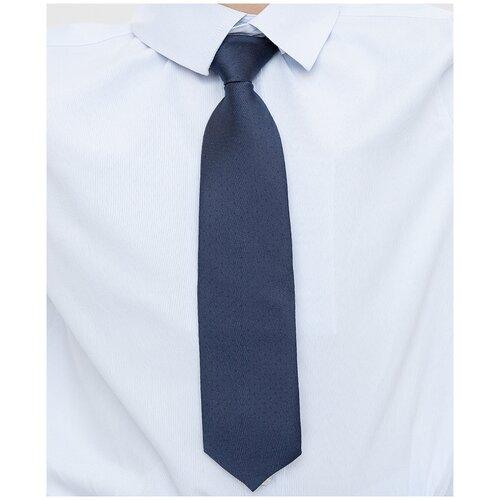 Галстук синий Button Blue для мальчиков, цвет синий, размер 122*170, модель 221BBBS86021000