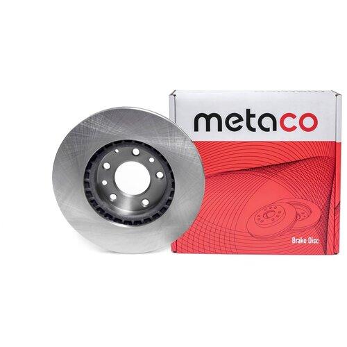 Диск тормозной передний вентилируемый Metaco 3050-041