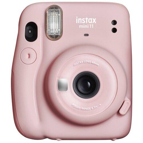 Фото - Фотоаппарат моментальной печати Fujifilm Instax MINI 11 Pink Geometric Set, с альбомом и кассетой 10л. фотоаппарат моментальной печати canon zoemini s розовое золото