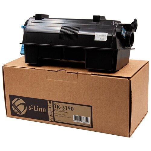 Тонер-картридж булат s-Line TK-3190 для Kyocera ECOSYS P3055, P3060 (Чёрный, 25000 стр.)