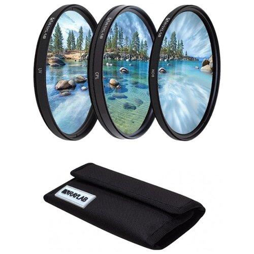 Набор из 3 фильтров RayLab (UV,CPL,ND8) 52mm