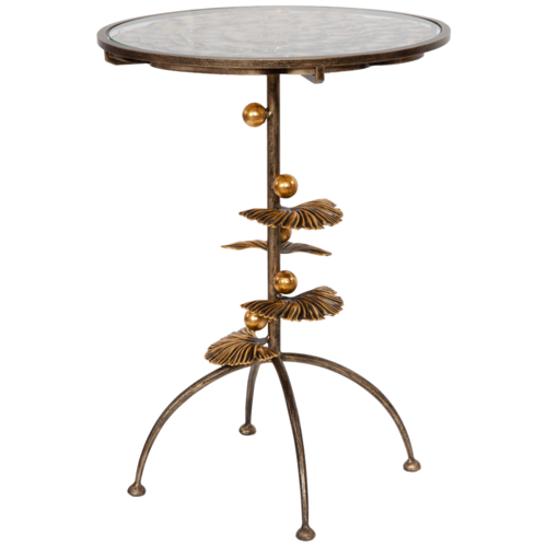 Столик декоративный Терра Роуз Бронза часы настенные bogacho терра бронза