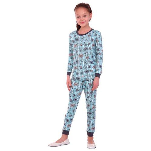 Купить Пижама Toontex размер 116, голубой/серый, Домашняя одежда
