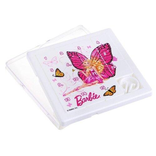 Логическая игра Нордпласт Собирашки (Барби: бабочка розовая) (847) нордпласт игра логическая собирашки смешарики крош 834