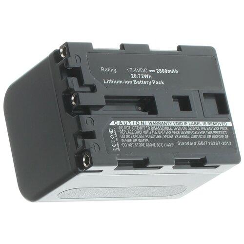 Фото - Аккумуляторная батарея iBatt 2800mAh для Sony DCR-TRV80E, CCD-TRV118, DCR-DVD100E, DCR-PC103, DCR-PC104E, DCR-TRV70, DCR-TRV70K, HVL-IRM аккумулятор ibatt ib u1 f324 3300mah для sony dcr sr62 dcr sr300 hdr hc7 hdr ux5 dcr sr100 hdr ux7 dcr sr45 hdr sr11e dcr sr65 hdr sr10e dcr sx40 dcr dvd610e dcr dvd106e dcr sr42 dcr sr47 hdr sr12e
