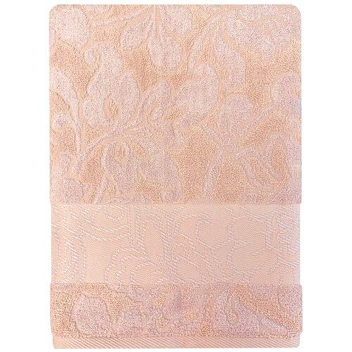Полотенце банное 70*130 Bonita Азалия, махровое, пудровое bonita полотенце classic банное 50х90 см медовый