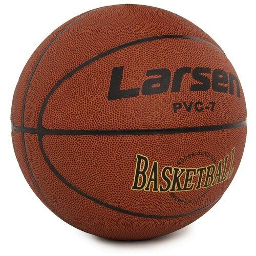 Мяч баскетбольный Larsen PVC7 баскетбольный мяч larsen pu6 р 6
