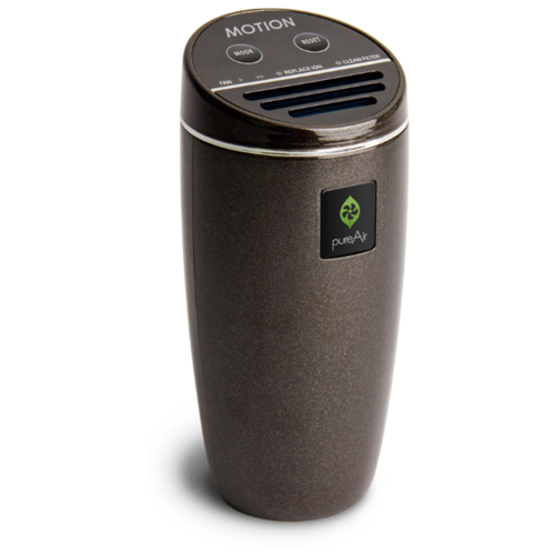 Автомобильный Очиститель Воздуха 12/220 Вольт GreenTech Environmental pureAir MOTION BP-V1 - Би-полярная Ионизация и Обеззараживание для Дома, Офиса и Автомобиля.