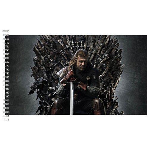Альбом для рисования, скетчбук Игра престолов Нед Старк