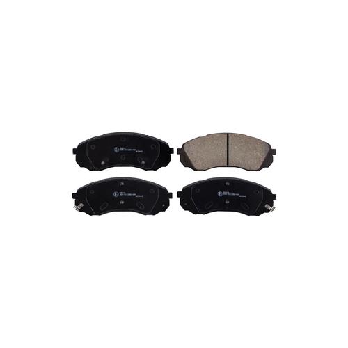 NIBK pn0458 (581014DA00 / 581014DA00BR / 581014DE00) колодки тормозные дисковые Hyundai (Хендай) h-1 2.5 2008 - Hyundai (Хендай) h-1 2.4 2008 - Hyundai (Хендай) h-1 2.5 2011 -