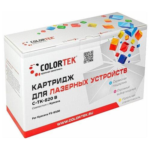 Фото - Картридж лазерный Colortek CT-TK-820K черный для принтеров Kyocera colortek ct cf217a 17a