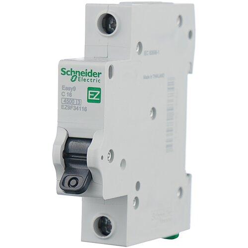 Фото - Автоматический выключатель Schneider Electric Easy 9 1P (C) 4,5kA 20 А автоматический выключатель schneider electric easy 9 1p c 4 5ka 20 а