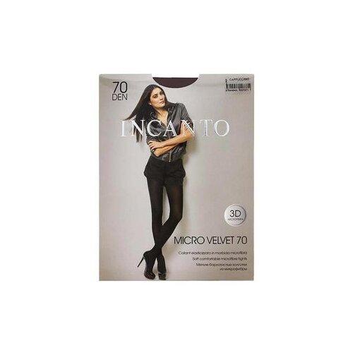 Колготки Incanto Micro Velvet, 70 den, размер 5-XL, cappuccio (коричневый)